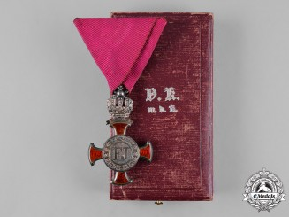 Austria, Imperial. A Cross of Merit with Crown, by V. Mayers Söhne, ca. 1915