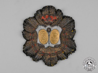 Spain, Kingdom. A Military Body of Justice, Embroidered Judge Breast Badge, c.1920