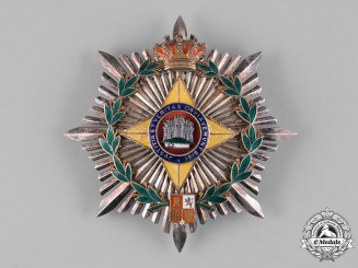 Spain, Kingdom. A Medal for Insurance Merit, I Class Grand Cross Star, c.1955