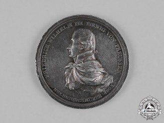 Germany, Prussia. A Unification of Paderborn with the State of Prussia Medal 1802
