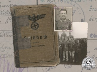 Germany, Heer. A Soldbuch and Photographs, 47th Artillery Regiment