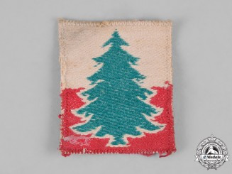 Poland, Republic. A 3rd Carpathian Rifle Division Sleeve Badge, c.1944