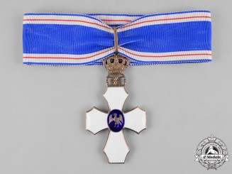 Iceland, Republic. An Order of the Falcon, Commander's Cross, c.1935