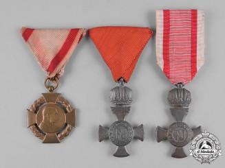 Austria, Empire. Three Awards & Decorations