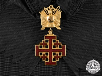 Vatican, City State. An Equestrian Order of the Holy Sepulchre, Grand Cross, c. 1965