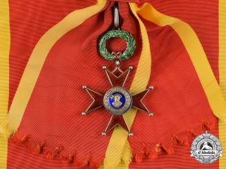 Vatican, City State. An Equestrian Order of St.Gregory the Great, Grand Cross Badge, by Tanfani & Bertarelli
