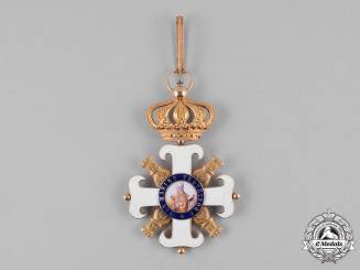 San Marino, Republic. An Order of San Marino in Gold, Grand Cross Badge, c.1900