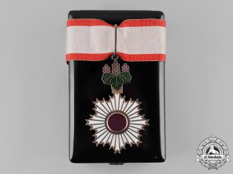 Japan, Imperial. An Order of the Rising Sun, III Class Neck Badge