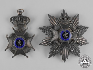 Belgium, Kingdom. An Order of Leopold II, I Class Grand Cross, by Arthus Bertrand