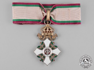 Bulgaria, Kingdom. An Order for Civil Merit, III Class Commander, c.1920