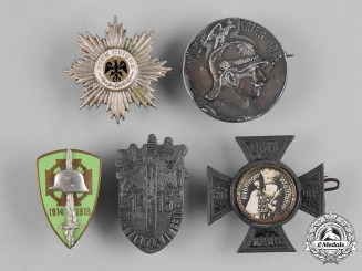 Germany, Imperial. A Lot of First War Period Badges