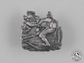 Germany, Imperial. A 1916 First War Propaganda Badge