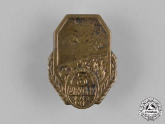 Austria, Imperial. A 3rd Army Carpathian Campaign Badge
