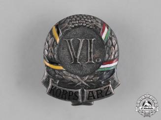 Austria, Imperial. An Austro-Hungarian Regimental Badge