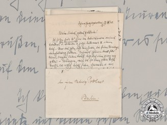 Germany, Third Reich. A Lot of Love Letters from Reichsführer-SS Heinrich Himmler to Hedwig Potthast