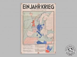 Germany, NSDAP. A Propaganda Poster, c.1940