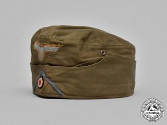 Germany, DAK. An Afrika Korps Logistics EM/NCO's Overseas Cap, by Hans Brandt