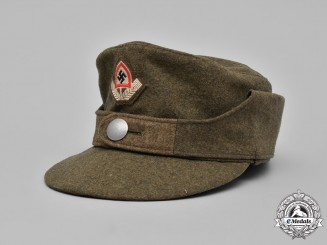Germany, RAD. A Reich Labour Service (RAD) EM/NCO's Winter Field Cap