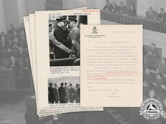 Germany, Third Reich. A Collection of Photographs and Correspondence to Heribert von Troll-Obergfell