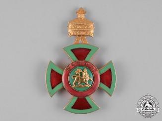 Ethiopia, Empire. An Order of Emperor Menelik II, III Class Commander