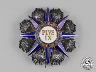 Vatican, City State. An Order of Pope Pius IX, Grand Commander Star, c.1900