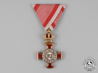 Austria, Empire. An Order of Franz Joseph, Knight's Cross, by Wilm. Kunz