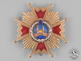 Spain, Francoist State. An Order of Isabella the Catholic, Breast Star, c.1950