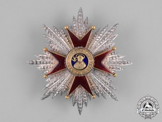 Vatican. A Pontifical Equestrian Order of St. Gregory the Great, Grand Cross Star