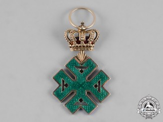 Romania, Kingdom. An Order of Ferdinand I, Knight