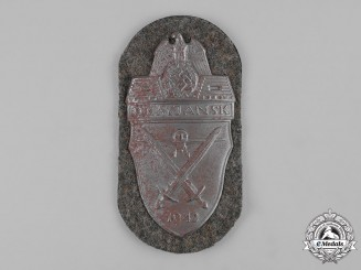 Germany, Heer. An Army-Issued Demjansk Shield