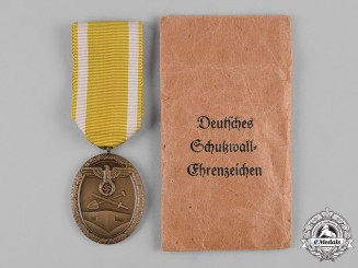 Germany, Wehrmacht. A West Wall Medal by Sohni, Heubach & Co.