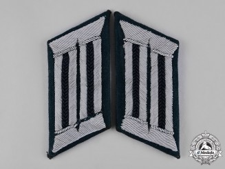Germany, Heer. A Set of Heer Engineer Officer's Collar Tabs