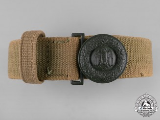 Germany, Heer. An Officer's Tropical Belt and Buckle