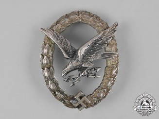 Germany, Luftwaffe. An Early Radio Operator Badge, by C.E. Juncker