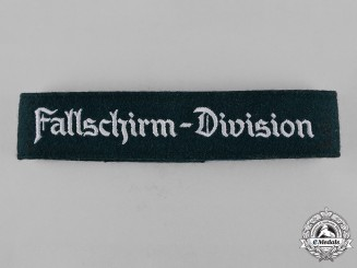Germany, Luftwaffe. A Fallschirm-Division Cuff Title