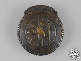 Germany, NSKK. A Dutch NSKK Eastern Front Volunteer Honour Badge
