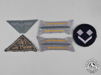 Germany, Third Reich. A Lot of Third Reich Uniform Insignia