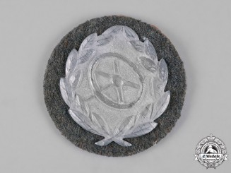 Germany, Wehrmacht. A Wehrmacht Driver Proficiency Badge, Silver Grade