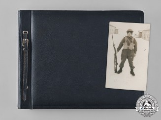 Canada, Commonwealth. A Fort Garry Horse Second War Photo Album