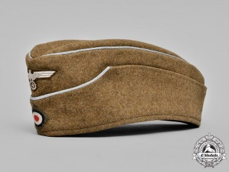 Germany, Organisation Todt. An Officers Overseas Cap, by Mannheim, c.1942