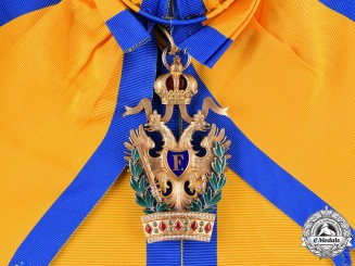 Austria, Imperial. An Order of the Iron Crown, Grand Cross, by Rothe