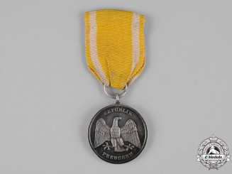 Germany, Weimar Republic. A Prussian State Commemorative Medal for Rescue from Danger