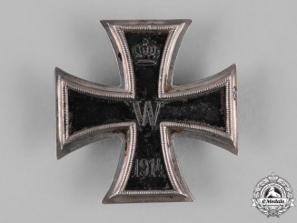 Germany, Imperial. A Converted 1914 Iron Cross I Class, Field Modified