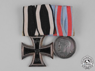 Germany, Imperial. A First War Hesse Medal Pair