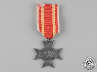 Baden, Grand Duchy. A War Merit Cross, c.1916