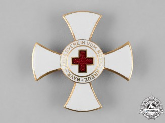 Bavaria, State. A Decoration of the Bavarian State Association of the Red Cross, I Class