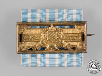 Bavaria, Kingdom. A Fire Service Long Service Decoration for 25 Years