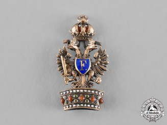 Austria, Imperial. An Order of the Iron Crown, Miniature, c.1900