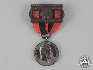 Württemberg, Kingdom. A King Karl Recognition Medal, by K. Schwenzer