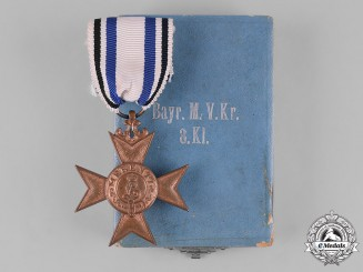 Bavaria, Kingdom. An Order of Military Merit, War Merit Cross, III Class, with Case